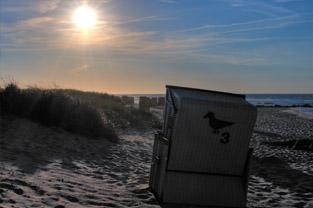 Das Ferienhaus direkt am Strand